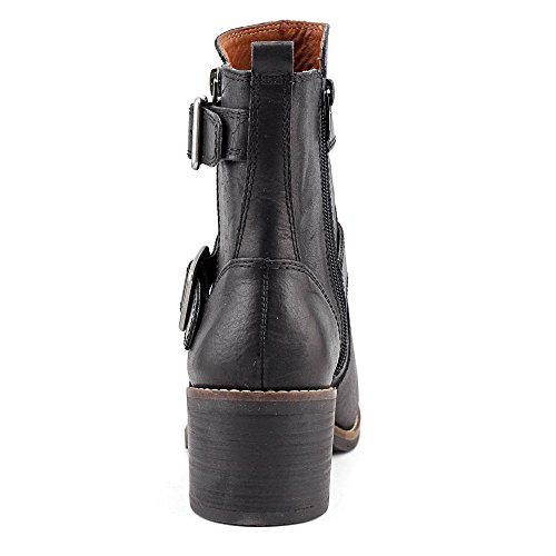 Boot Castillas Women's Black Buckle Lucky qBH6wx