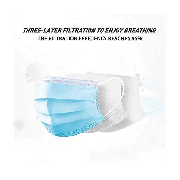 ANNEW-3-Schieben-Medizinische-Maske-Einweg-Gesichtsmaske-50-Stck-Atmungsaktive-und-komfortable-Schutzmasken-Mehrschichtige-Schutzmasken