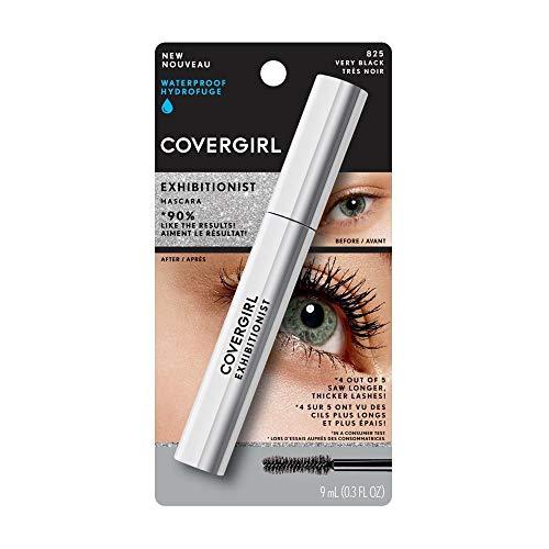 COVERGIRL Exhibitionist Waterproof Mascara, Very Black