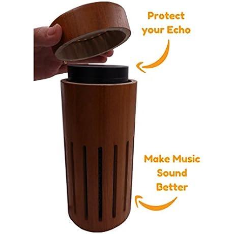 Wooden Amazon Echo Holder