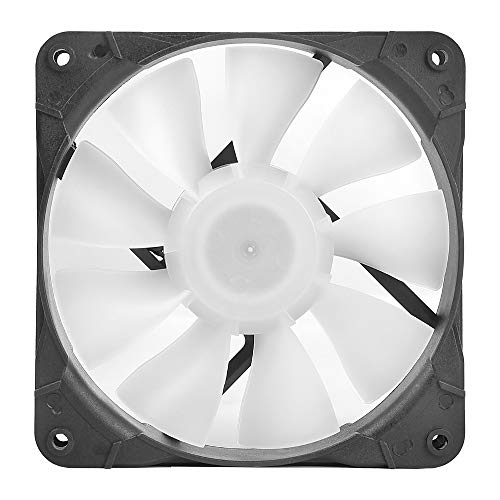 Sahara SR-02 PC Case Fans 120mm Blue LED PC Fan,High Airflow Quiet,Molex Connector,SR Series 3 Packs for Computer Cases