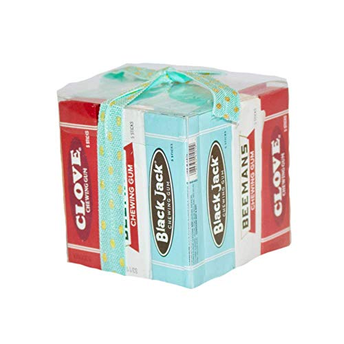 Vintage Gum Gift Set Includes 21 Packs of Clove, Beemans and Black Jack Flavors