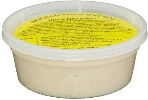 "Price comparison product image REAL African Shea Butter Pure Raw Unrefined From Ghana ""IVORY"" 8oz. CONTAINER"