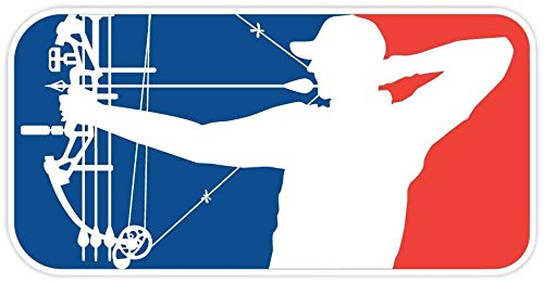 Major League Bowhunter Vinyl MLB. decal Windows Walls Car Body Car Bumpers Laptops Folders. Buy - Edwin Group of Companies. (Size: 3