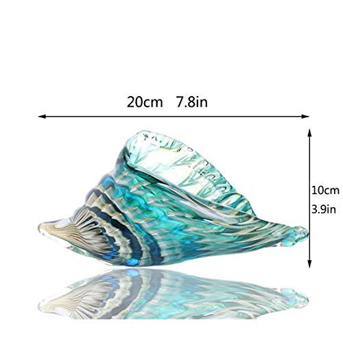 Buy glass seashell figurine