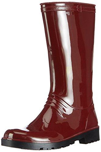 Chuva IRIS DAMESLAARS PVC ROOD 36, Damen Halbschaft Gummistiefel, Rot (Rot(Rood) 03), 36 EU
