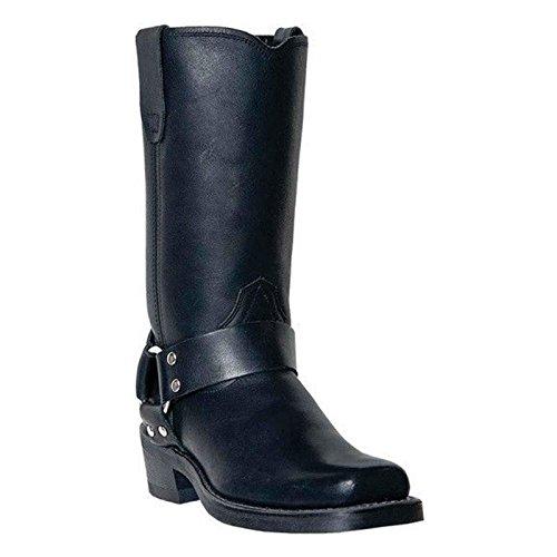 Womens Black Harness Boots - 6
