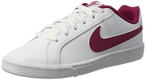 83b53b05 Nike Court Royale, Zapatillas para Mujer Blanco (White/sport Fuchsia-pure  Platinum