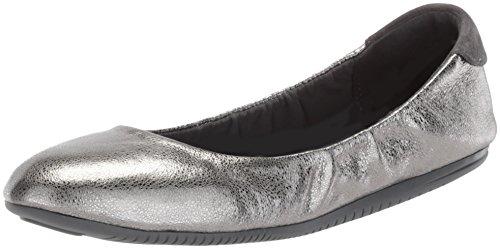 Cole Haan Studiogrand Convertible Ballet Flat,Anthracite Glitter Metallic Leather,11 B US (Metallic Ballet Leather Flats)