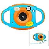 Telecamera per bambini Fotocamera digitale Videocamera per bambini HD Videocamera ricaricabile Schermo a colori da 1,7 pollici Camma da 5 MP per ragazze dei bambini