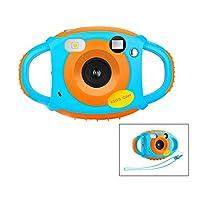Caméra numérique Appareil Photo numérique HD pour Enfants Caméra vidéo Rechargeable 1.77 Pouces Écran Couleur 5 MP Cam