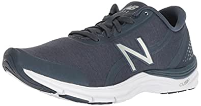 New Balance Women's 711v3 Cush + Cross Trainer, Dark Green, 8 B US