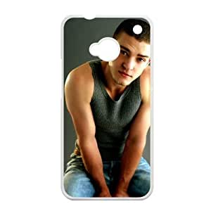 EVA Justin Timberlake HTC ONE M7 Case, Justin Timberlake Hard Plastic Protection Cover for HTC ONE M7