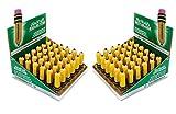 Ticonderoga 38936 Shaped Eraser Latex-Free 36/Box (2)