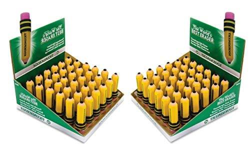 Ticonderoga 38936 Shaped Eraser Latex-Free 36/Box (2) by Ticonderoga (Image #1)