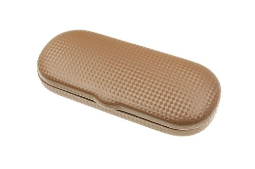 Complex Eyeglasses Case for Small to Medium Frames in Brown