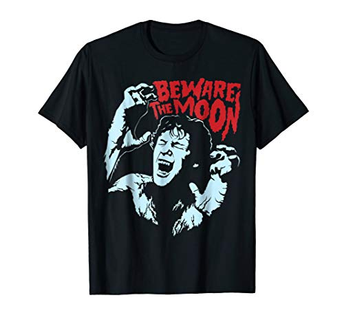 Beware The Moon halloween T shirt for -