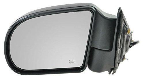 Bravada Power Heated Mirror (Power Heated Mirror Driver Side Left LH for Blazer S10 Pickup Jimmy S-15 Sonoma)