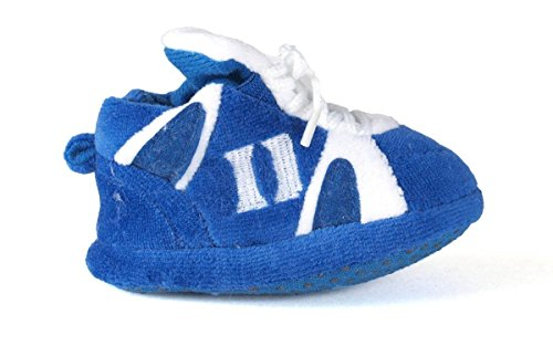 DUK03PR - Duke Blue Devils NCAA Happy Feet Baby Slippers ()