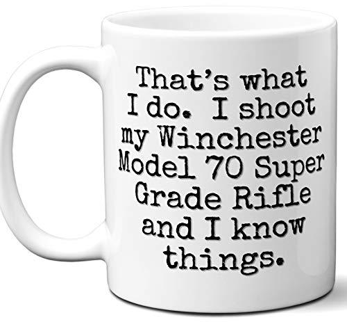 Gun Gifts For Men, Women. Winchester Model 70 Super Grade Rifle That