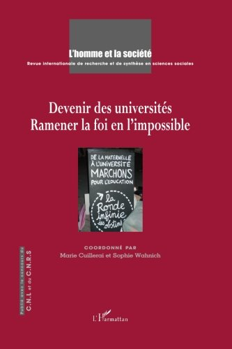 Devenir des universités: Ramener la foi en l