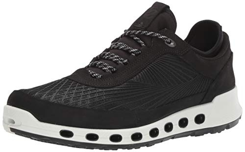 ECCO Men's Cool 2.0 Textile Gore-tex Sneaker, Black, 45 M EU (11-11.5 - Grid Climate Mens