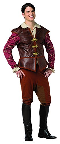 Rasta Imposta Men's Once Upon A Time Prince Charming, Red/Brown, X-Large