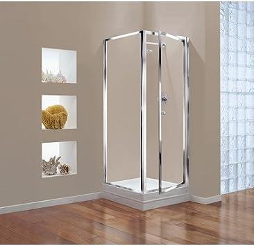 Coram Showers Gbpi80cuc 800 X 1800 Mm Pivot Shower Door With Chrome Framework Effect Amazon Co Uk Diy Tools