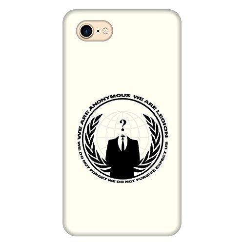 Coque Apple Iphone 7 - Anonymous Ivoire