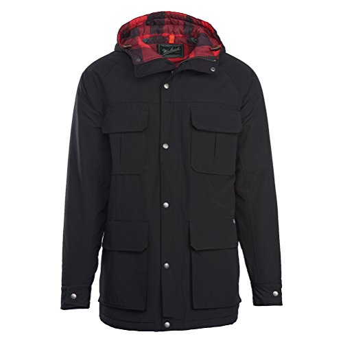 Woolrich Men's Advisory Wool Insulated Mountain Parka, Black, ()