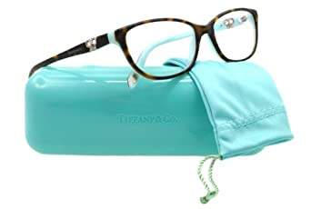 tiffany eyeglasses tf 2051b black havana