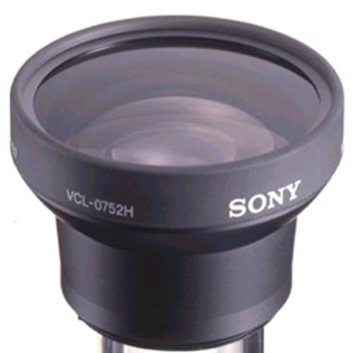 Sony VCL0752H Deluxe Wide Conversion Lens x0.7 for 52mm Diameter Lenses by Sony