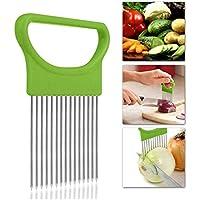 Pikajiu Fruit Vegetable Onion Tomato Holder Slicer Cutter (Various Colors)