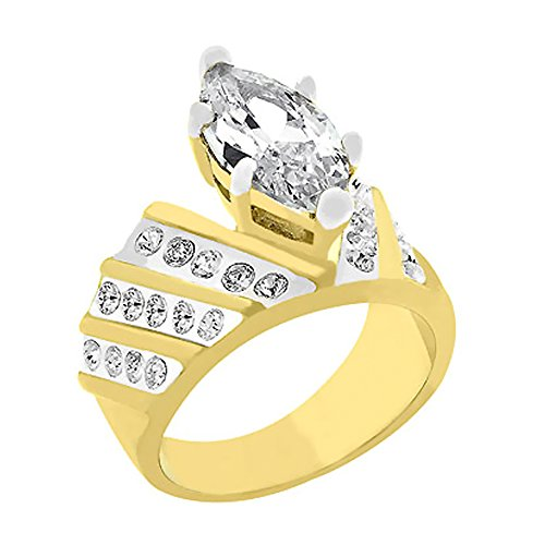 J Goodin Youth Trendy Wedding Marriage Venetian Crown Ring Size - Crown Venetian