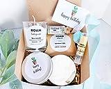 Happy Birthday Gift Box - 6 Pc Lavender Gift Set - Spa Gift for Women