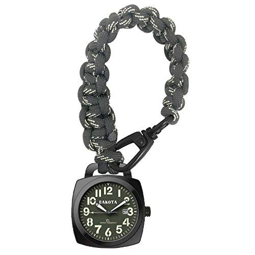 Dakota Survival Pocket Watch w/ Paracord Strap