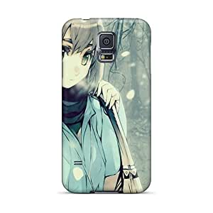 Anime Girl Case Compatible With Galaxy S5/ Hot Protection Case