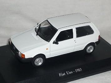 Fiat Uno 1983 Weiss 1 43 De Agostini Modell Auto Modellauto Amazon