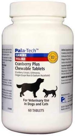 Pala Tech Cranberry Plus Chew Tabs 60 ct