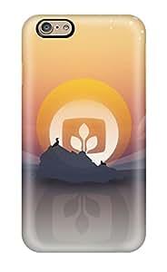 New Premium Flip Case Cover Desktop Artwork Skin Case For Iphone 6 4181445K58256231