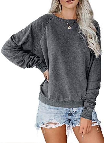 Dokotoo Crewneck Blouses T Shirts Pullovers