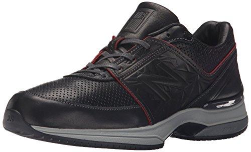 New Balance Mens M2040v3 Running Shoe, Negro/Rojo, 37.5 D(M) EU/4.5 D(M) UK