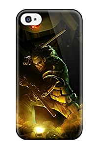 Best Iphone 4/4s Case Bumper Tpu Skin Cover For 2011 Deus Ex Human Revolution Accessories 4066156K23663189