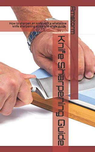 Knife Sharpening Guide: How to sharpen an knife with a whetstone knife sharpening stone and angle guide.