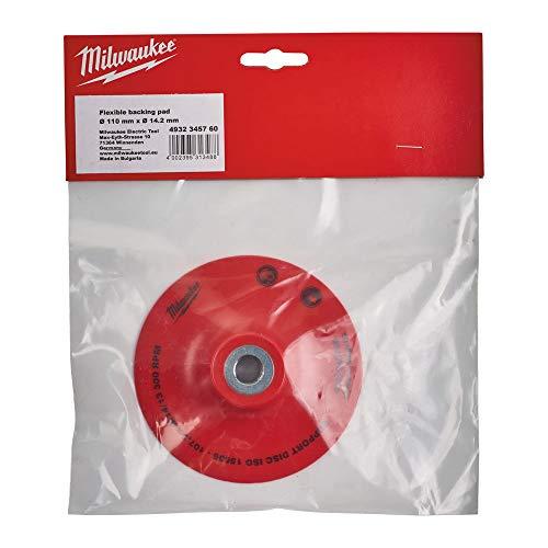 Milwaukee Plastic Sanding Discs 125mm/Bore 14.2mm - Milwaukee Sanding Disc