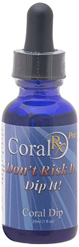 Pro Coral Iodine - Blue Ocean Corals Coral Rx Concentrate Dip PRO Aquarium Treatment, 1-Ounce