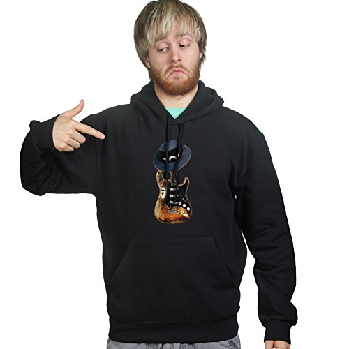Lrg Cd - CPT Mens Stevie Ray Tribute Hat Number Hoodie L Black