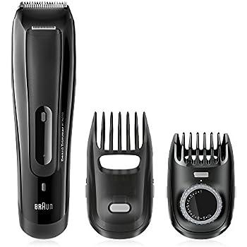 Braun BT5070 Men's Beard Trimmer, Cordless & Rechargeable, Black