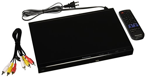 Panasonic DVD-S500P-K All Multi Region Code Zone Free PAL/NTSC DVD Player (Panasonic Cd Player)