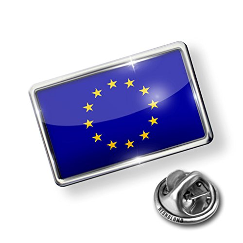 nice Pin European Union (EU) Flag - Lapel Badge - NEONBLOND big discount